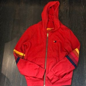 Aviator Nation Red Zip Up
